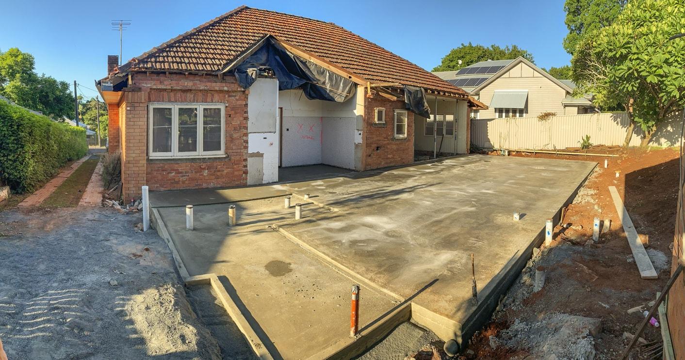 Concrete House Slab Sydney